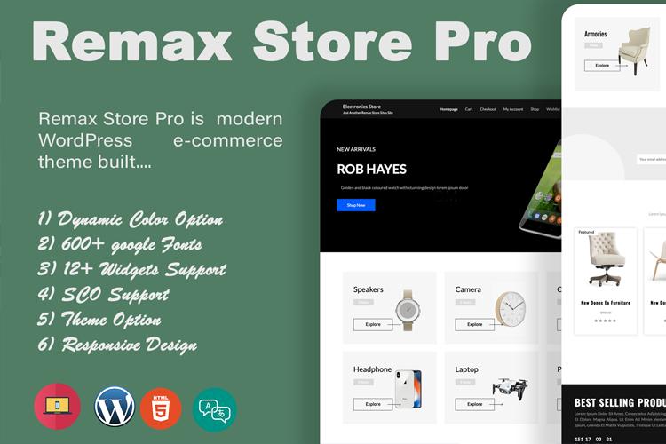 Remax Store Pro – Free & Premium WordPress Themes & Plugins